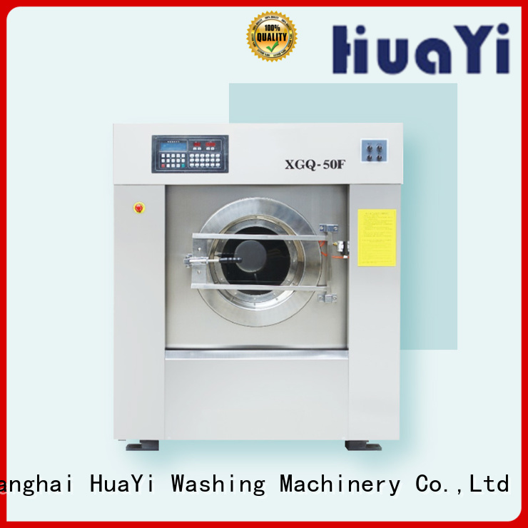 HuaYi washing machine size at discount for washing industry