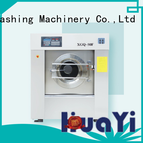 HuaYi energy saving industrial laundry machine at discount for hotel