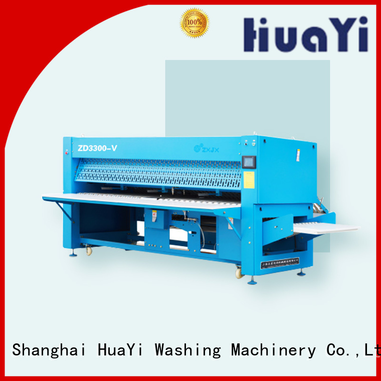 HuaYi anti-static automatic laundry folder promotion for laundry shop