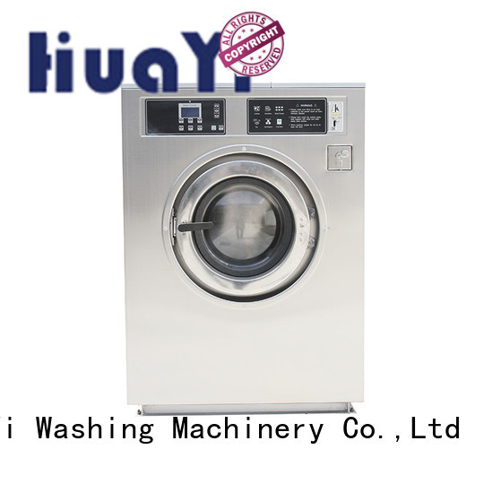 HuaYi stable coin operated washer online for social welfare homes