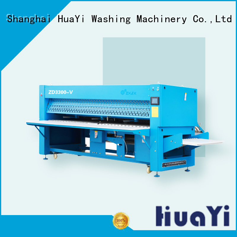 industrial automatic folding machine for laundry shop HuaYi
