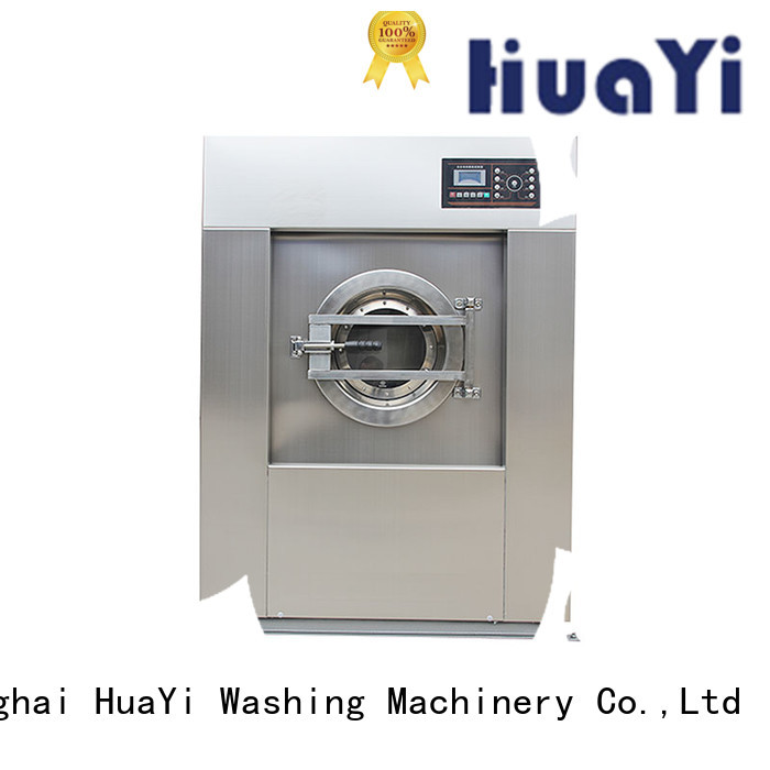 HuaYi commercial laundry machine at discount for hospital