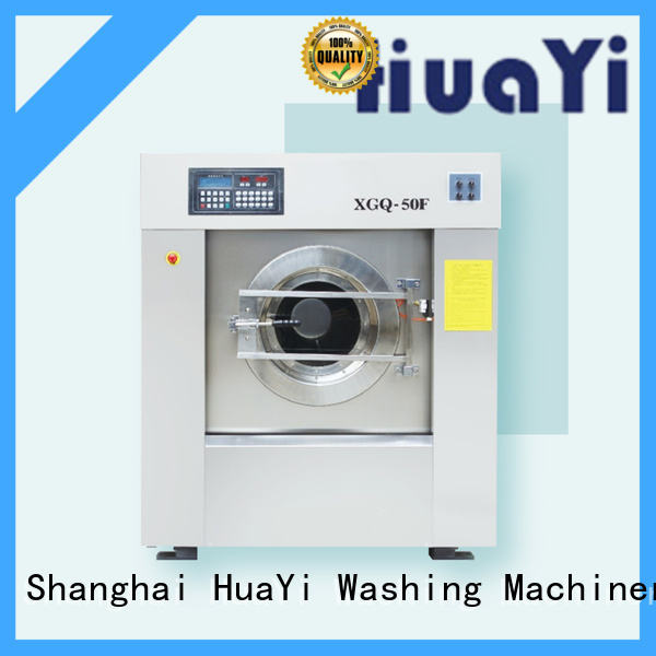 HuaYi industrial washing machine factory price for hospital