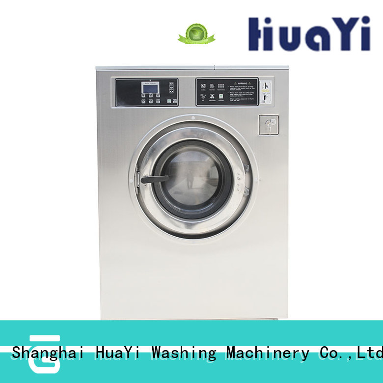 HuaYi stable coin operated washing machine directly sale for shop