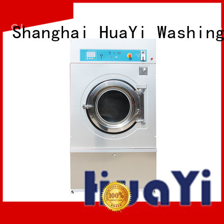 HuaYi professional industrial washer and dryer directly sale for residential schools