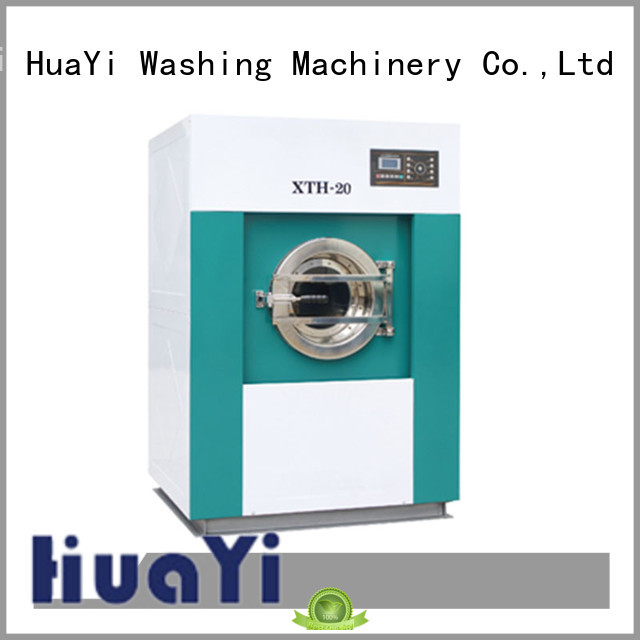 HuaYi low noise industrial washing machine at discount for military units
