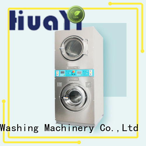 HuaYi stable coin operated washer and dryer online for hotels