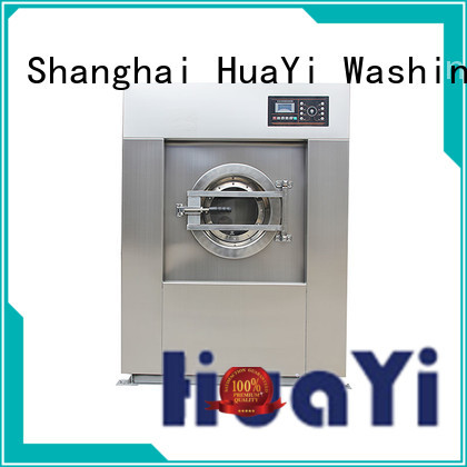 HuaYi commercial laundry washing machine factory price for restaurant