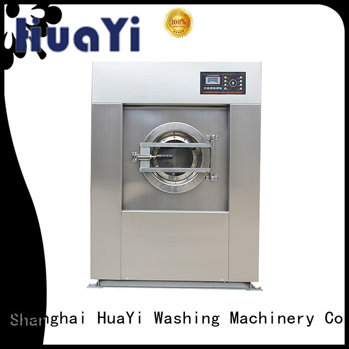 HuaYi automatic commercial laundry machine at discount for restaurant