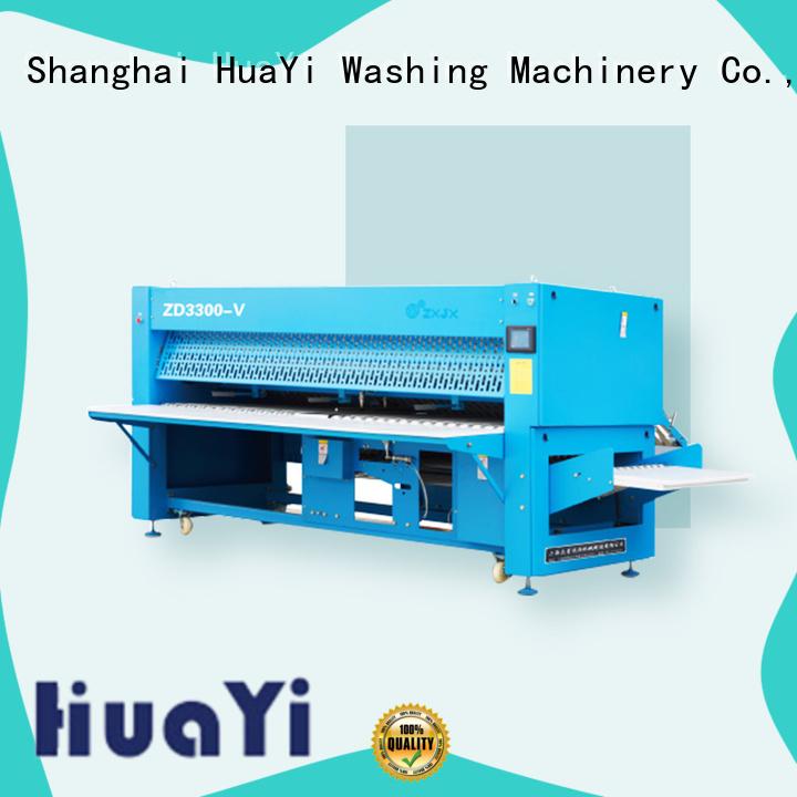 HuaYi folding laundry folding machine manufacturer for hospital