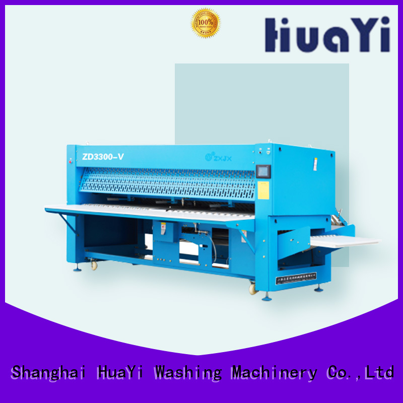 HuaYi good quality sheet folding machine on sale for school