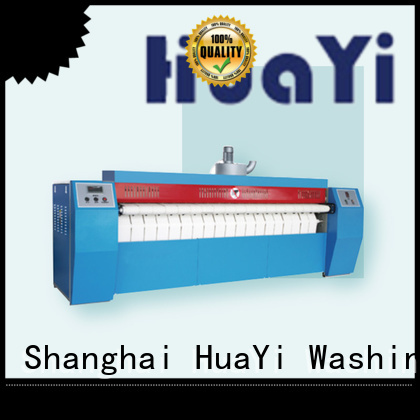 HuaYi customized industrial ironing machine at discount for hotel