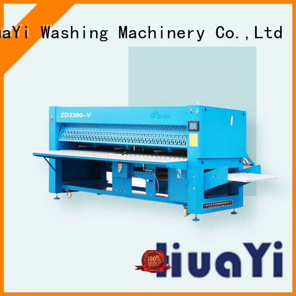 precise automatic clothes folding machine factory price for school