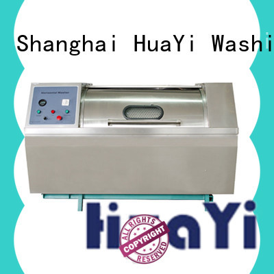 HuaYi automatic industrial washing machine promotion for guest house