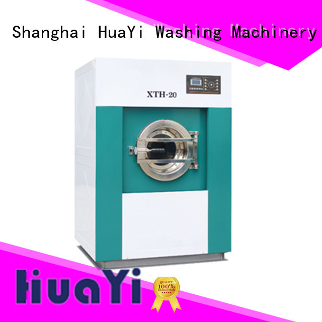 HuaYi commercial laundry washing machine promotion for hospital
