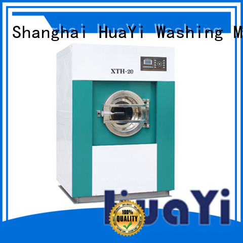 HuaYi energy saving laundry machine price supplier for guest house