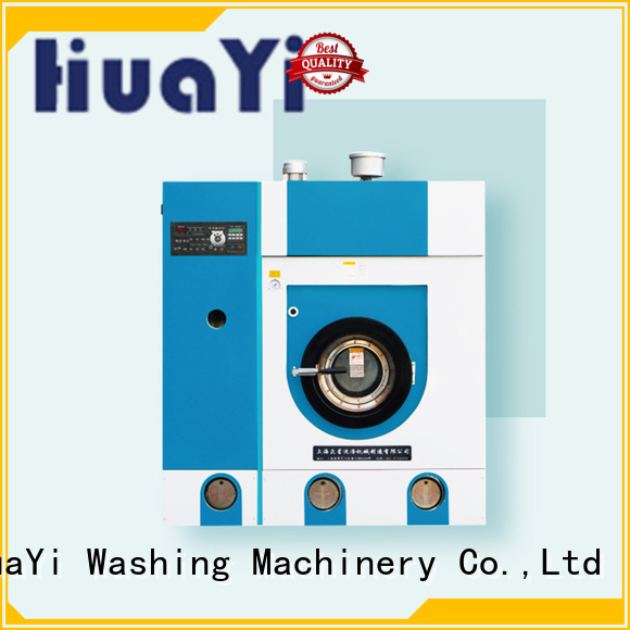 HuaYi accurate dry cleaner machine manufacturer for industry