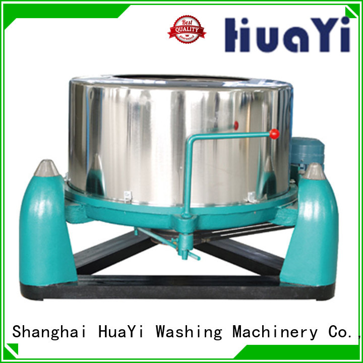 HuaYi low noise commercial laundry promotion for military units