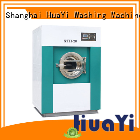 HuaYi energy saving laundry washer at discount for hospital