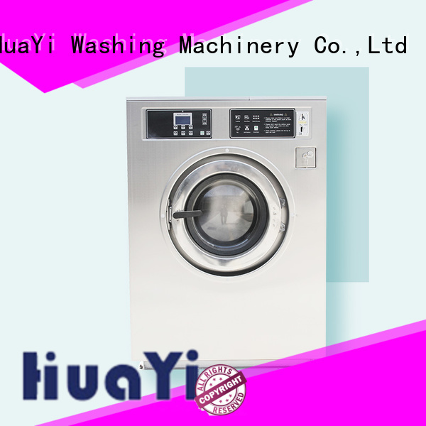 HuaYi laundry equipment promotion for hospital