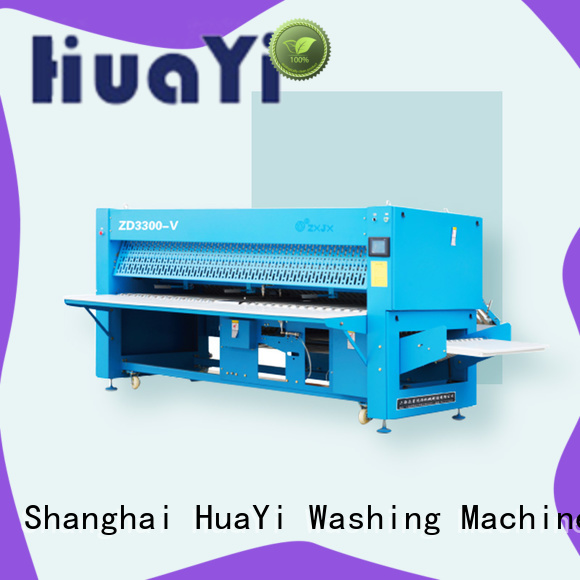 high speed commercial laundry folding machine on sale for hotel