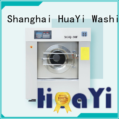 HuaYi commercial washing machine at discount for washing industry