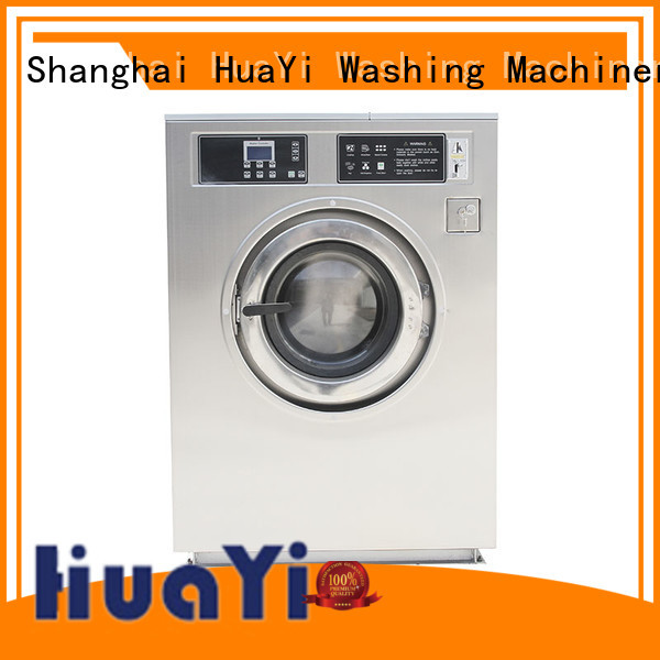 HuaYi high efficiency coin laundry dryer supplier for shop