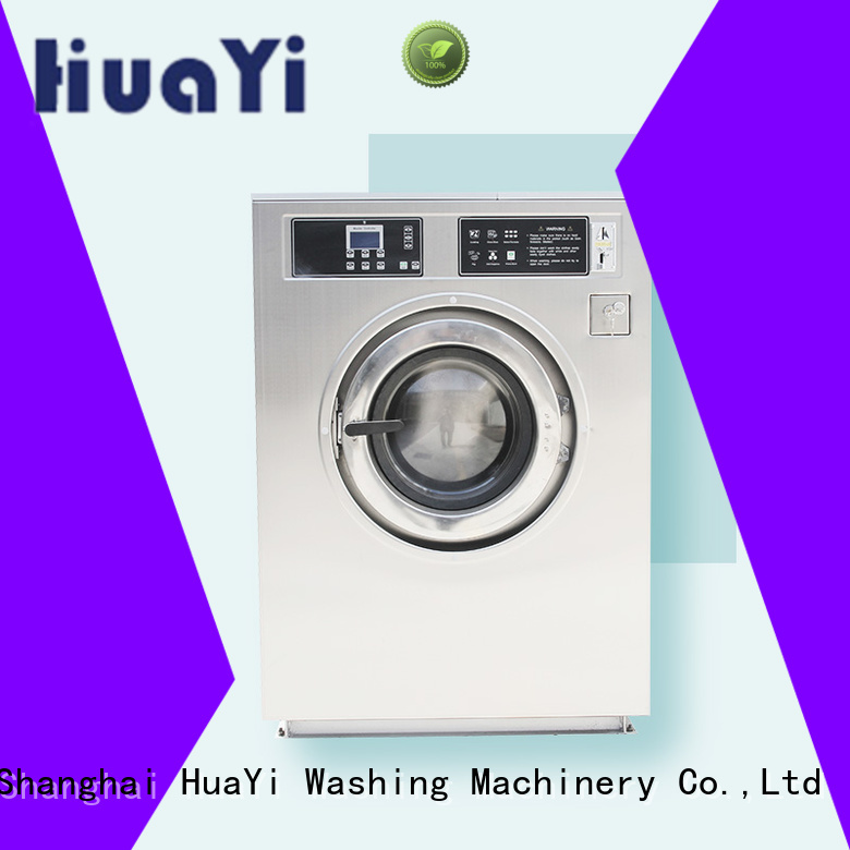 industrial laundry machine promotion for hospital