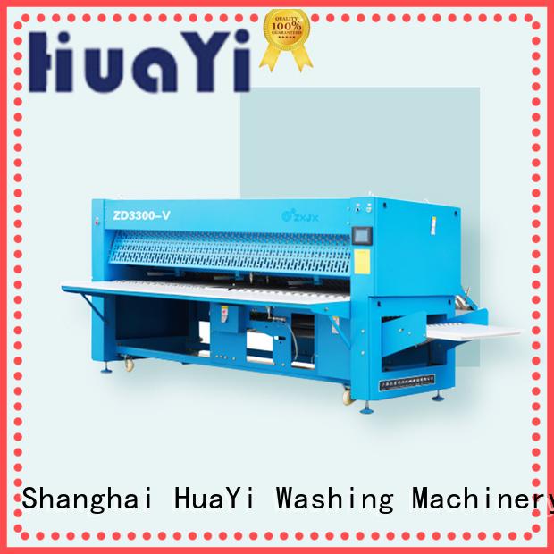 HuaYi folding laundry folding machine promotion for hotel