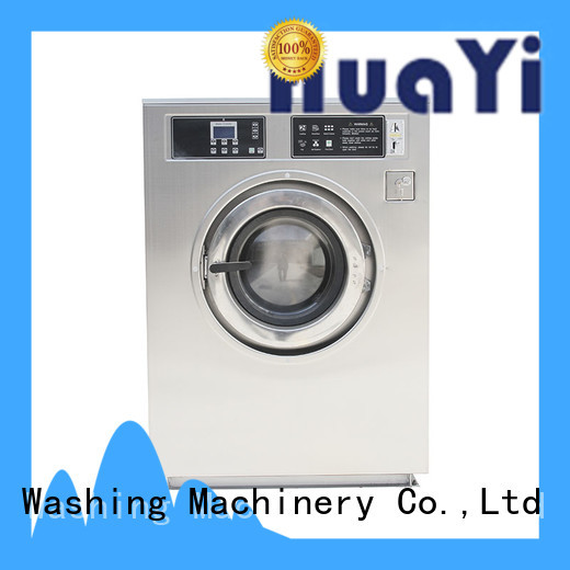 HuaYi washing machine with dryer supplier for social welfare homes