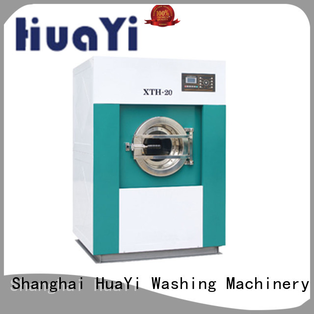 HuaYi automatic commercial laundry machine directly sale for guest house