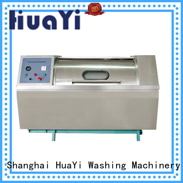 HuaYi low noise laundry washing machine supplier for military units