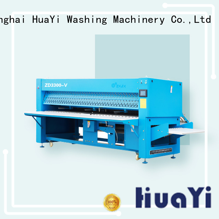 HuaYi laundry folding machine manufacturer for hospital
