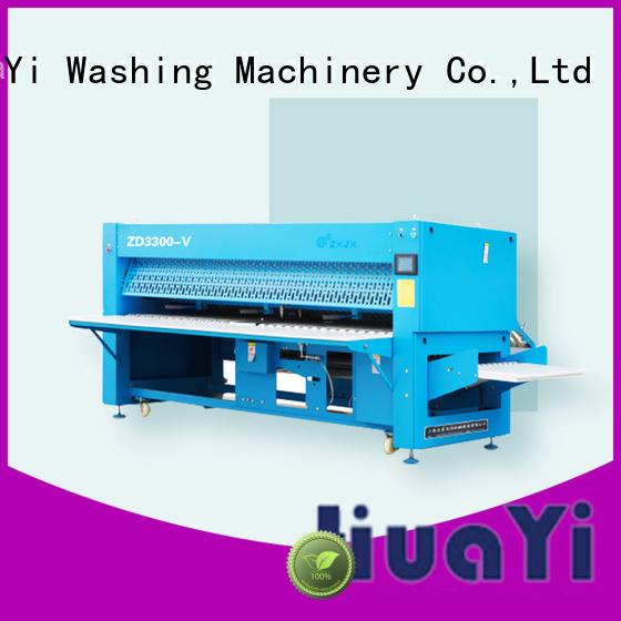 anti-static laundry folding machine on sale for laundry shop
