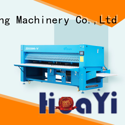 HuaYi automatic clothes folding machine manufacturer for laundry shop