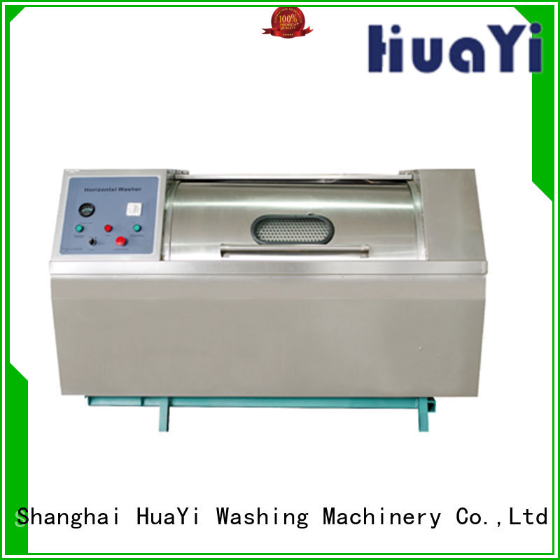 HuaYi industrial fully automatic washing machine directly sale for guest house