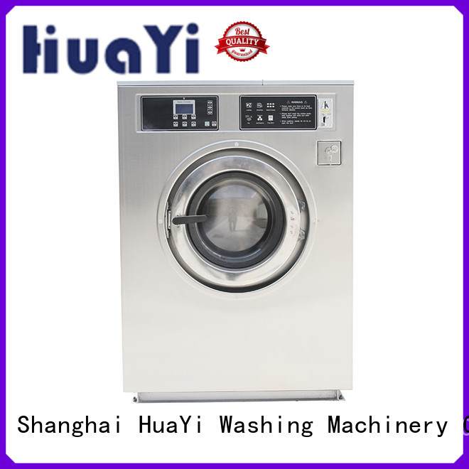 HuaYi high efficiency commercial washer and dryer directly sale for baths