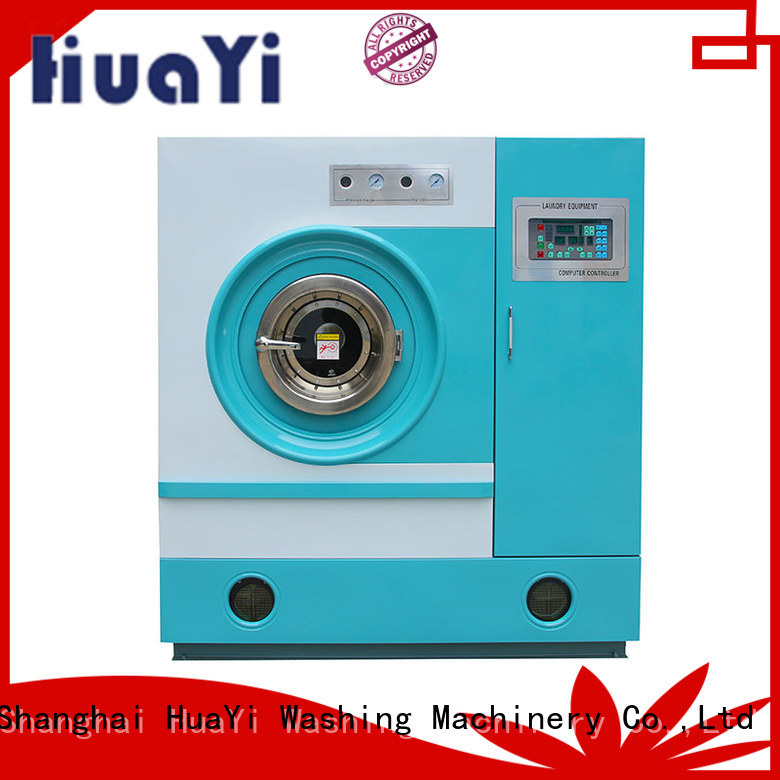 HuaYi convenient hydrocarbon dry cleaning machine for sale for lundry factory