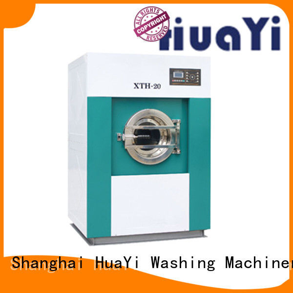 HuaYi laundry machine price directly sale for restaurant