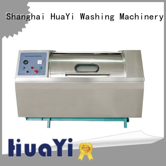 HuaYi industrial commercial washer promotion for military units