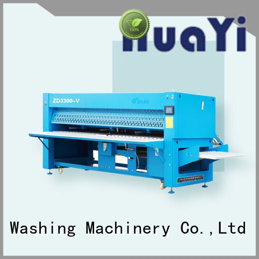 HuaYi commercial laundry folding machine factory price for hotel