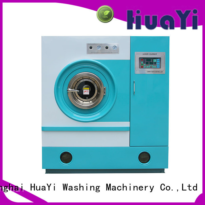 HuaYi flexible dry cleaning washing machine directly sale for hospital