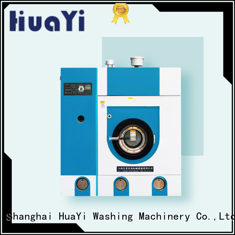 HuaYi convenient dry cleaning washing machine from China for industry