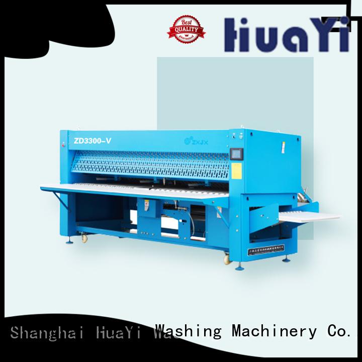 HuaYi sheet folding machine on sale for bath