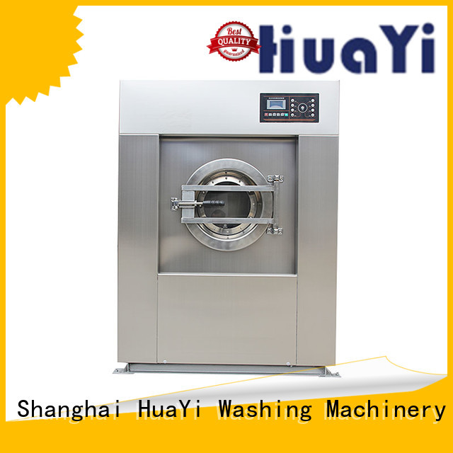 HuaYi commercial washing machine size at discount for hospital
