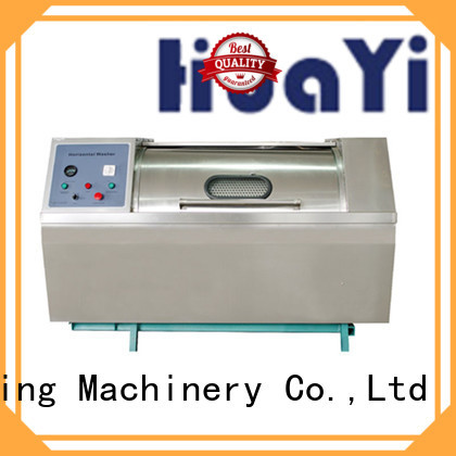 HuaYi low noise laundry machine for sale for restaurant