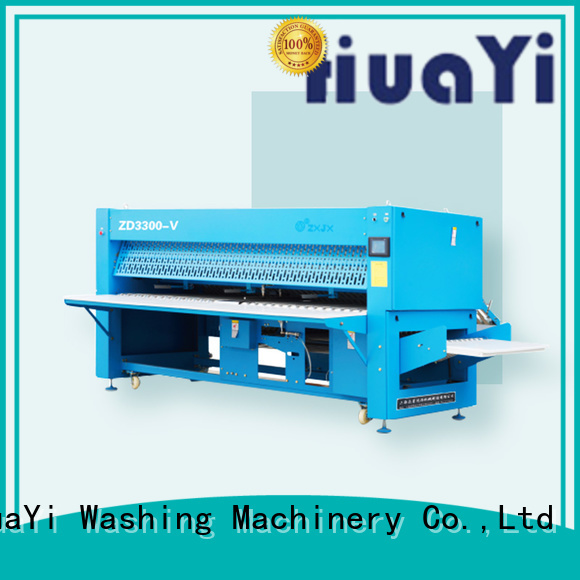 high speed automatic clothes folding machine promotion for school