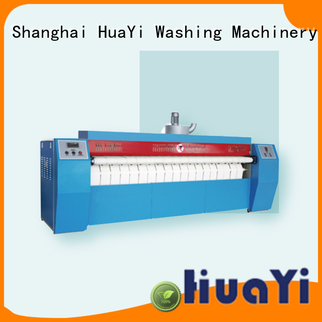 HuaYi high efficiency flatwork ironer at discount for old apartment,