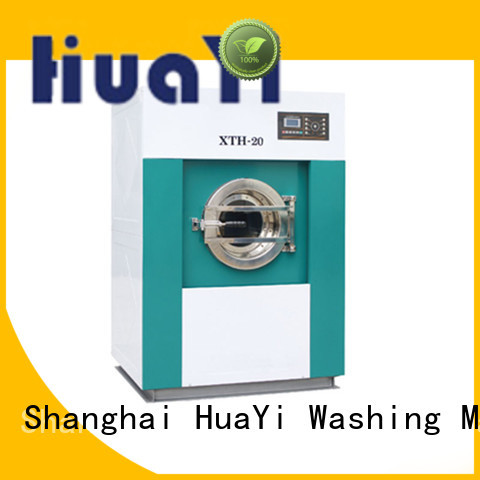 HuaYi energy saving industrial washing machine at discount for hospital