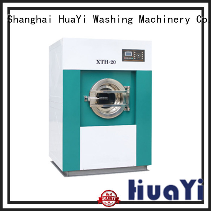 HuaYi commercial laundry machine factory price for military units